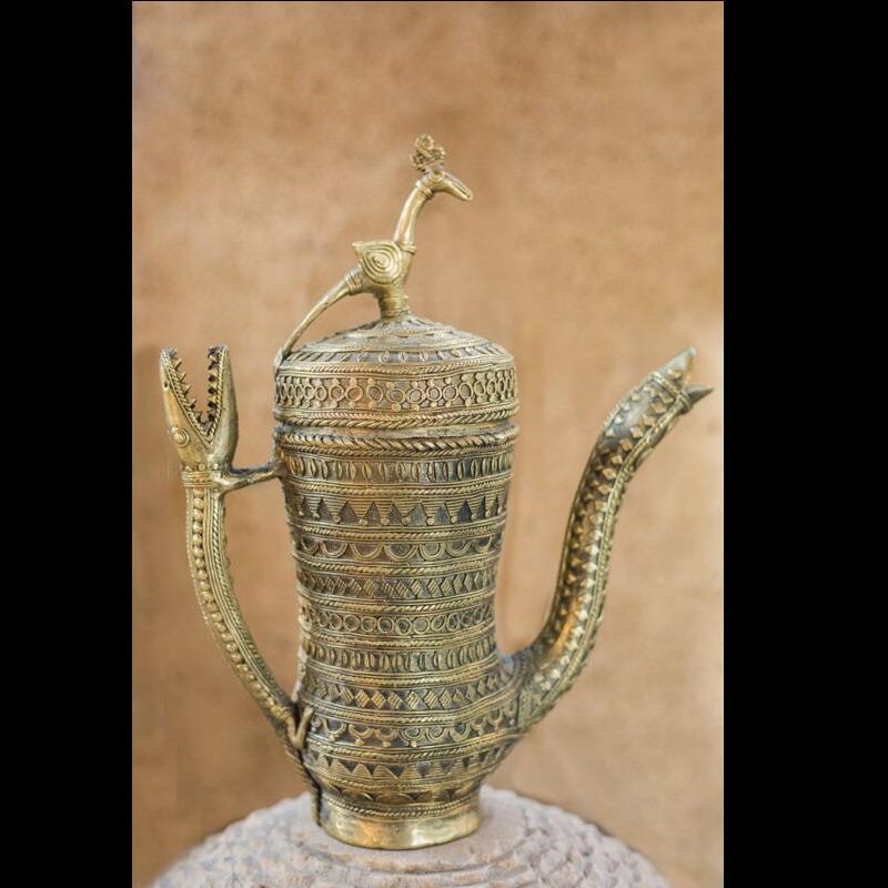 Dhokra Work Ornamental Jug