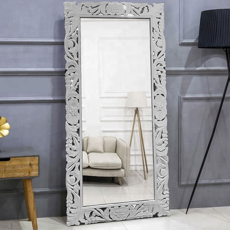 Moorni Wooden Carved Mirror Frames